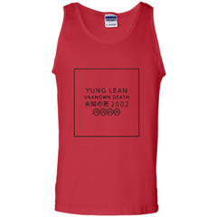 Yung Lean Unknown Death 2002 Tshirt Tank Top - WackyTee