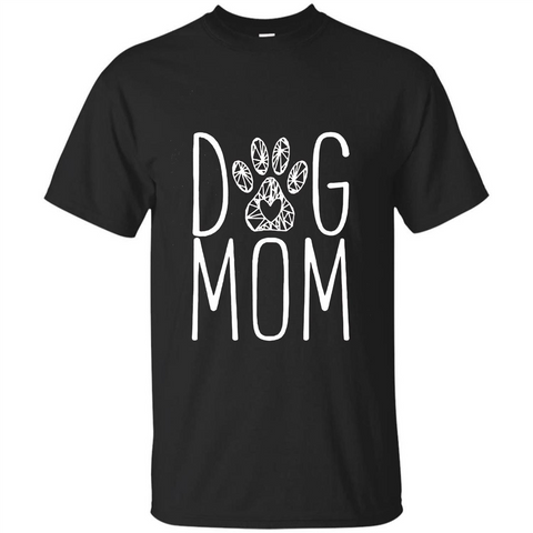 Dog Lover T-shirt Dog Mom Black / S Custom Ultra Tshirt - WackyTee