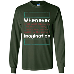 Whenever I Feel Myself Slipping In To The Abyss T-shirt LS Ultra Cotton Tshirt - WackyTee