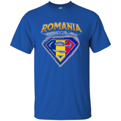 Power From Romania T-shirt Custom Ultra Tshirt - WackyTee