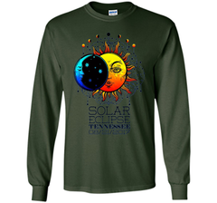 Tennessee Total Solar Eclipse Tennessee Ancient TT-shirt LS Ultra Cotton Tshirt - WackyTee