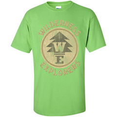 Wilderness Explorer T-shirt Custom Ultra Cotton - WackyTee