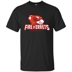 Republic City Fire Ferrets T-shirt Custom Ultra Tshirt - WackyTee