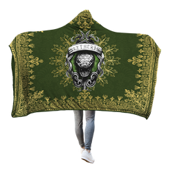 Mandala The Slytherin Snake Harry Potter 3D Hooded Blanket