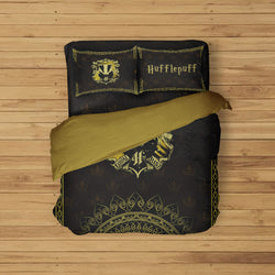 Mandala Hufflepuff Harry Potter Bed Set