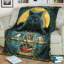 Cat Redear 3D Throw Blanket