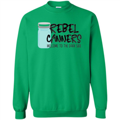 Rebal Canners Welcome To The Dark Side T-shirt Printed Crewneck Pullover Sweatshirt 8 oz - WackyTee