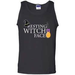 Reasting Witch Face ShirtG220 Gildan 100% Cotton Tank Top