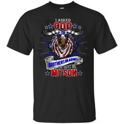 God Sent Me My Son Daddy T-shirt