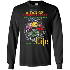 Gaoranger T-shirt Being A Fan Of Power Rangers Is Not Just A Season LS Ultra Cotton Tshirt - WackyTee