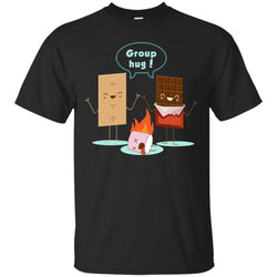 Funny Smores Chocolate Marshmallow Hiking Camping T-shirtG200 Gildan Ultra Cotton T-Shirt