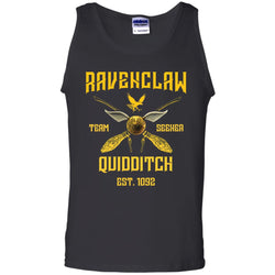 Ravenclaw Quiddith Team Seeker Est 1092 Harry Potter ShirtG220 Gildan 100% Cotton Tank Top