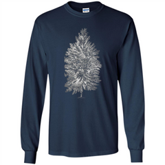 Poplar Tree T-shirt. Tree Poplar Tree T-shirt LS Ultra Cotton Tshirt - WackyTee