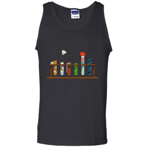 Muppet Science T-shirt Black / S Tank Top - WackyTee