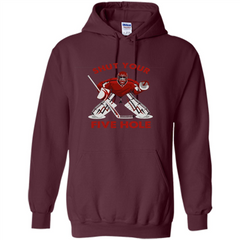 Funny Ice Hockey T-shirt Shut Your Five Hole T-shirt Pullover Hoodie 8 oz - WackyTee
