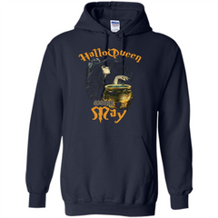 HalloQueen Are Born In May T-shirt Pullover Hoodie 8 oz - WackyTee