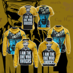 Breaking Bad (TV Series) New Unisex Zip Up Hoodie Fullprinted Zip Up Hoodie - WackyTee
