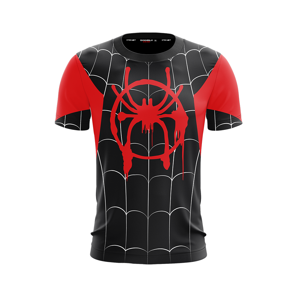 5d8d5cfaa2e Spider-Man  Into the Spider-Verse Miles Morales Cosplay Unisex 3D T ...