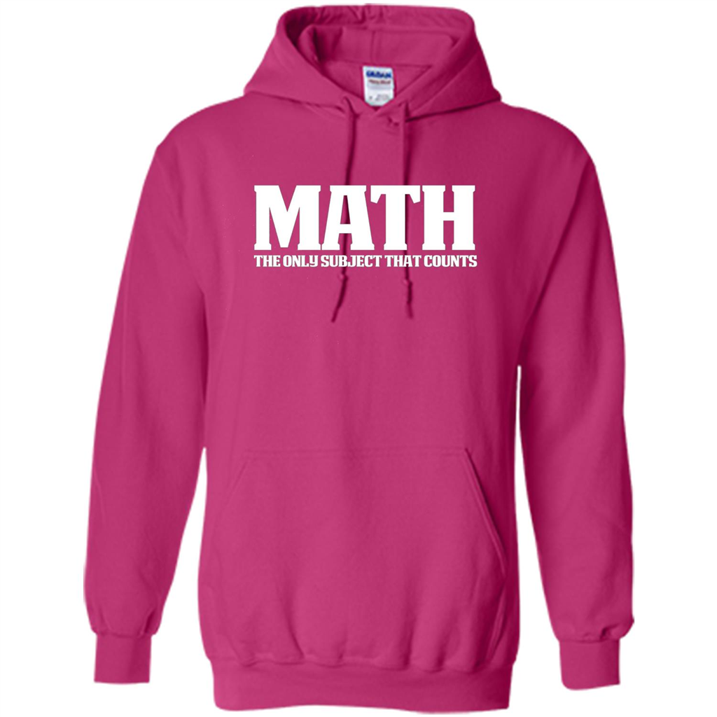 Funny Math T-shirt The Only Subject That Counts