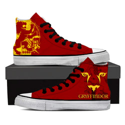 Quidditch Gryffindor Harry Potter High Top Shoes