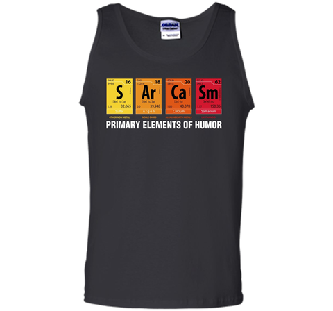 Sarcasm elements of humor periodic table graphic t shirt wackytee sarcasm elements of humor periodic table graphic t shirt black s tank top urtaz Choice Image