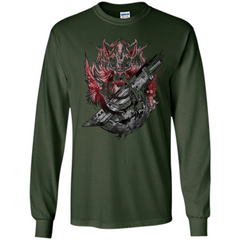 Final Fantasy Amano Homage T-shirt LS Ultra Cotton Tshirt - WackyTee