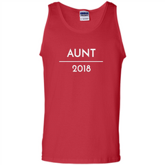 Pregnancy Announcement T-shirt Aunt 2018 T-shirt Tank Top - WackyTee