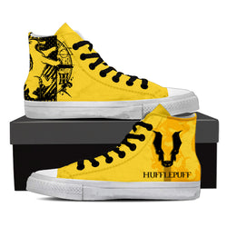 Quidditch Hufflepuff Harry Potter High Top Shoes