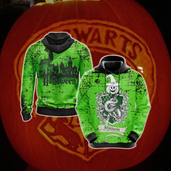Cunning Like A Slytherin Harry Potter - Halloween Unisex 3D Hoodie