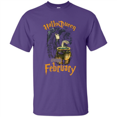 HalloQueen Are Born In February T-shirt Custom Ultra Tshirt - WackyTee