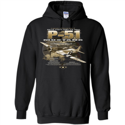 P-51 Mustang United States Army Air Force Fighter T-shirt