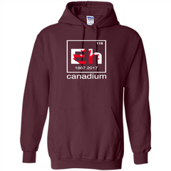 Funny Canadian T-shirt Canada Element Eh - 150 years T-Shirt Pullover Hoodie 8 oz - WackyTee