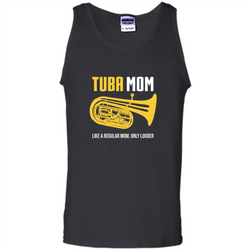 Tuba Mom T-shirt Like A Regular Mom Only Louder