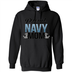 Military. Proud Navy Mom T-shirt