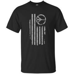 American Peace Flag T-shirt Patriotic Peace Sign Flag Shirt Custom Ultra Tshirt - WackyTee