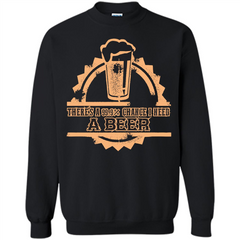 Beer T-shirt There‰۪s A 99.9 Chance I Need A Beer Printed Crewneck Pullover Sweatshirt 8 oz - WackyTee