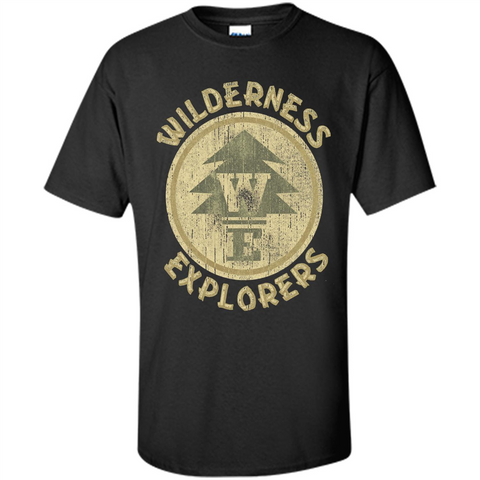 Wilderness Explorer T-shirt Black / S Custom Ultra Cotton - WackyTee