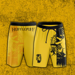 Quidditch Hufflepuff Harry Potter Beach Short