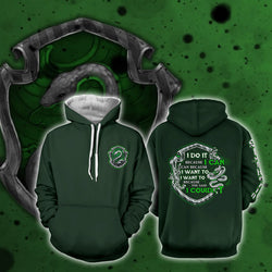 Slytherin Harry Potter Hoodie