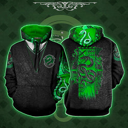 The Slytherin Snake Harry Potter 3D Hoodie