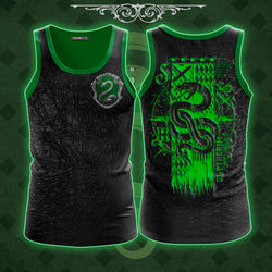 The Slytherin Snake (Harry Potter) 3D Tank Top