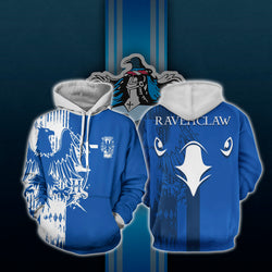 Quidditch Ravenclaw Harry Potter 3D Hoodie