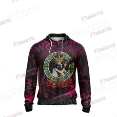 Yu Gi Oh! Yami Yugi New Unisex Zip Up Hoodie Jacket Fullprinted Zip Up Hoodie - WackyTee