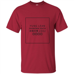 Yung Lean Unknown Death 2002 Tshirt Custom Ultra Tshirt - WackyTee