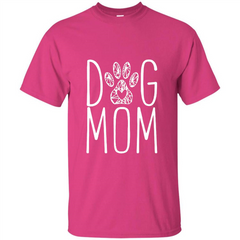 Dog Lover T-shirt Dog Mom Custom Ultra Tshirt - WackyTee