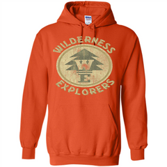 Wilderness Explorer T-shirt Pullover Hoodie 8 oz - WackyTee