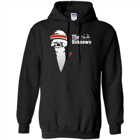 The Unknown T-shirt Black / S Pullover Hoodie 8 oz - WackyTee