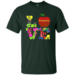 Kindergarten LOVE T-shirt School Day T-shirt Custom Ultra Tshirt - WackyTee