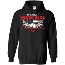 Military T-shirt RED The Best Never Rest Remember Everyone Deployed