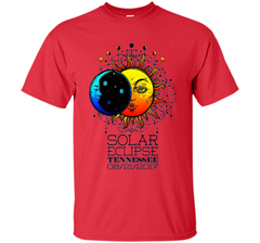 Tennessee Total Solar Eclipse Tennessee Ancient Tshirt cool shirt Custom Ultra Cotton - WackyTee